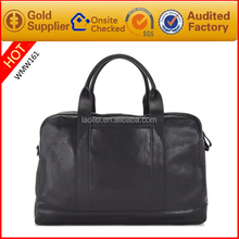Guangzhou wholesale black real leather tool bags men leather doctor bag