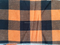 Soft Cheap Factory Fashion yarn dyed flannel fabric with construction