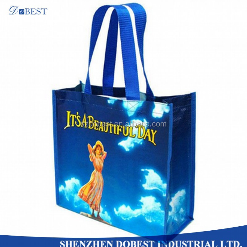 China Manufacturer Custom Printed Bopp Laminated Recycled PP Woven Bag