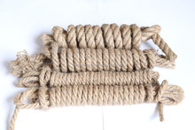 Top quality useful 200 mm natural jute rope/ 8cm natural jute cord/ 6mm natural colored jute rope