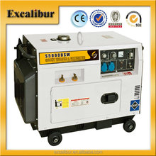 Model S6500DSW New Type Portable 5KW Diesel Silent-type Diesel Generator Cum Welder