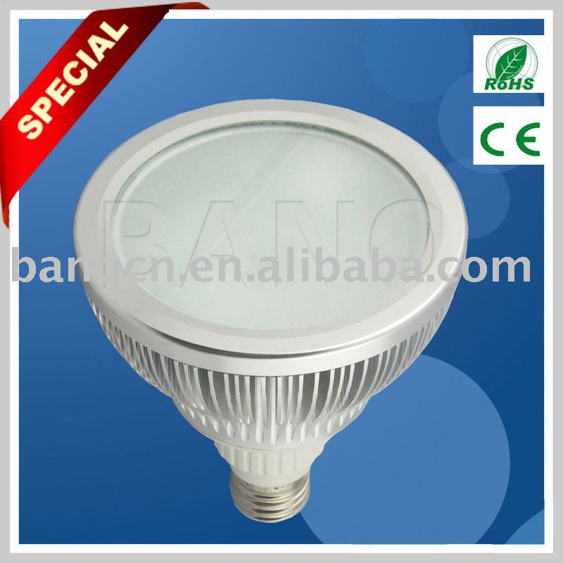 2012 hot sellers 12W high power smd led PAR light ,36pcs 0.3W 3535,E27 base ,all color are available