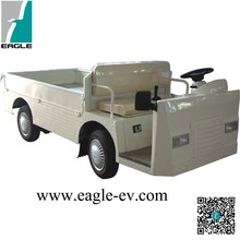 electrid burden carrier supplier from China, 48V 5KW power motor, flat cargo bed, with hard door as option