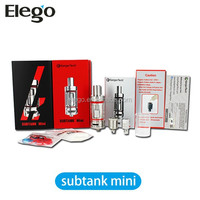2015 Black or white kanger subox mini starter kit/subtank mini bell cap made by kangertech from Elegotecb