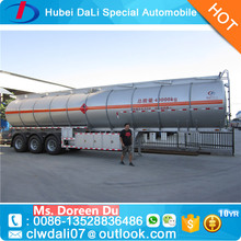 Hot Sale 3 Axles Insulated Fuel Tanker Semi Trailer For Africa