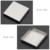 Modern 100x100mm Bathroom Tile Insert Shower Floor Drain Washer Waste Square Removal Grate