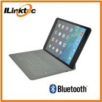 Tablets foldable swivel bluetooth keyboard case for ipad