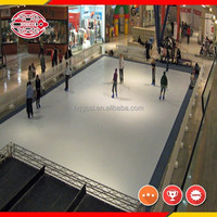 uhmwpe synthetic ice rink and barriers/roller skating rink flooring