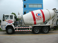 sinotruck 6x4 heavy concrete mixer dump truck with manufacture price,10 tons mixer truck