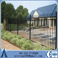 china cheap decorative wrought iron fence panels for sale