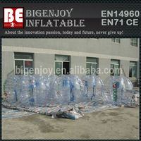 Factory Wholesale inflatable human hamster soccer bumper bubble ball