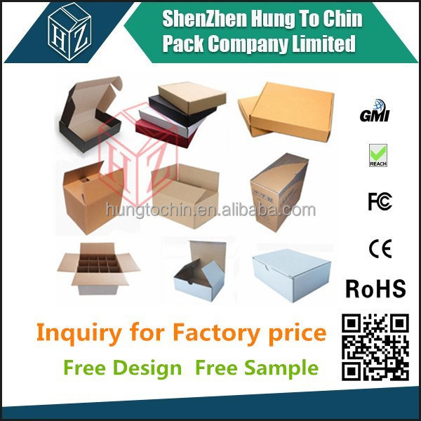 Hungtochin Pack direct manufacturer wholesale custom paper parcel box