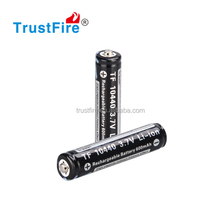 "TrustFire 10440 600mAh"" 3.7V small capacity Rechargeable lithium Batteries"