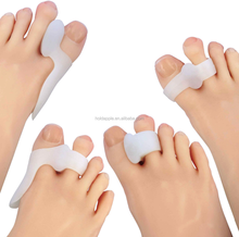 Silicone Gel Foot Toe Separator and Thumb Valgus Protector Bunion Adjuster HA00486
