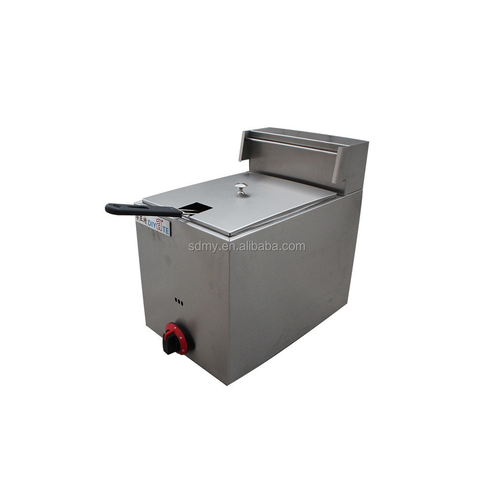 2015 best selling professional gas deep fryer commercial gas fryer