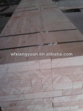 Packing grade E2 glued eucalyptus LVL packing grade