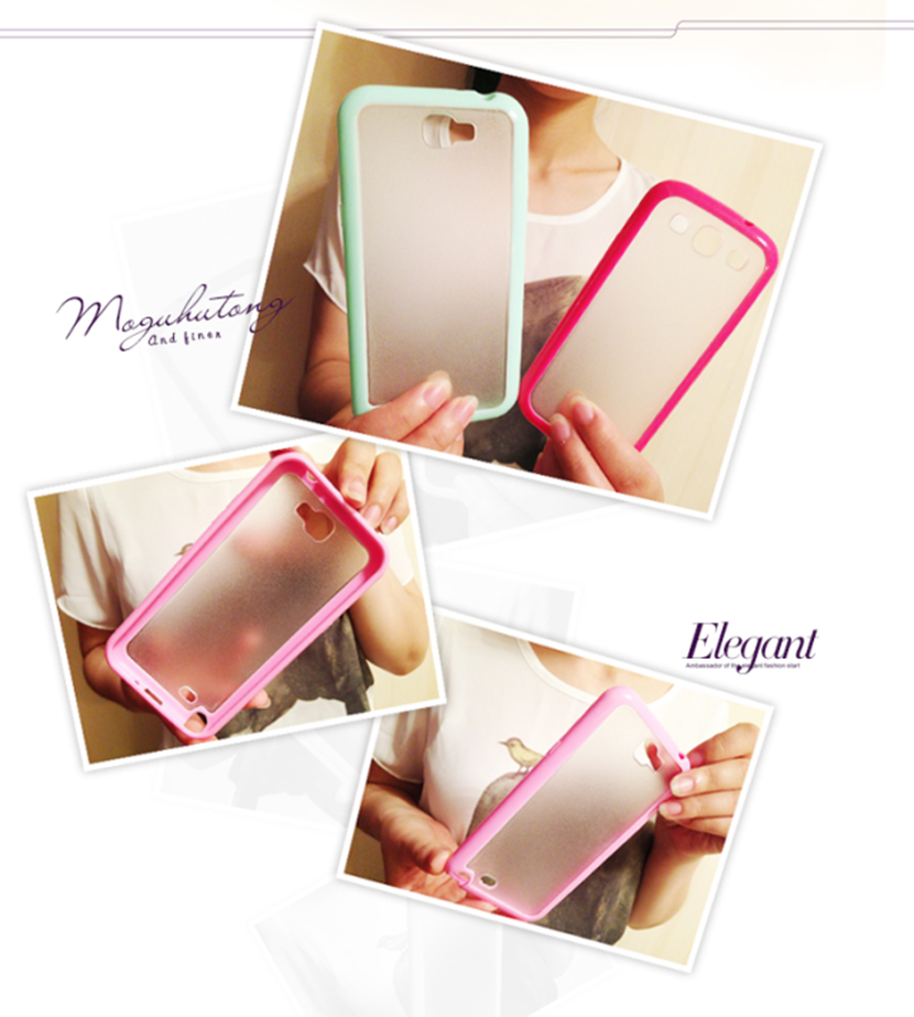 Shenzhen mobile phone accessories scrub clear tpu cover case for iphone5/6/6plus for samsung s4/s5/s6/s7 edge