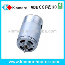 high speed RS-5616SA 60mm dc motor with dual shaft with 3.175mm shaft
