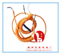 Quality assurance multi core spiral coiled spring cable