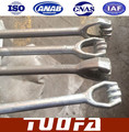 hot dip galvanized stay rod assembly/Stay set complete with wire ,insulator, turnbuckle /stay accessories/stay block