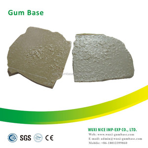 With 35% ASH CONTENT natural chicle gum base for promotion
