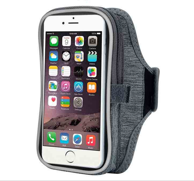 6.0 inch Multifunction Night Luminous Outdoor Sport Armband Casual Cell Phone Arm Package Bag Wallet Key Holder for iphone CA615