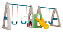 Plastic swing and slide set for kids TX-5156A