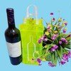 High quality clear pvc wine bag XYL-D-G445