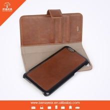 wholesale flip genuine leather mobile phone case and cover for iphone 6 4.7 inch
