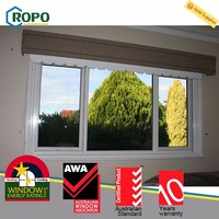 Best price superior quality sliding plastic window
