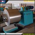 Automatic metal coil rolling machine