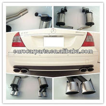High quality stainless steel muffler for BENZ E-Class W211 E63 Style 03~09