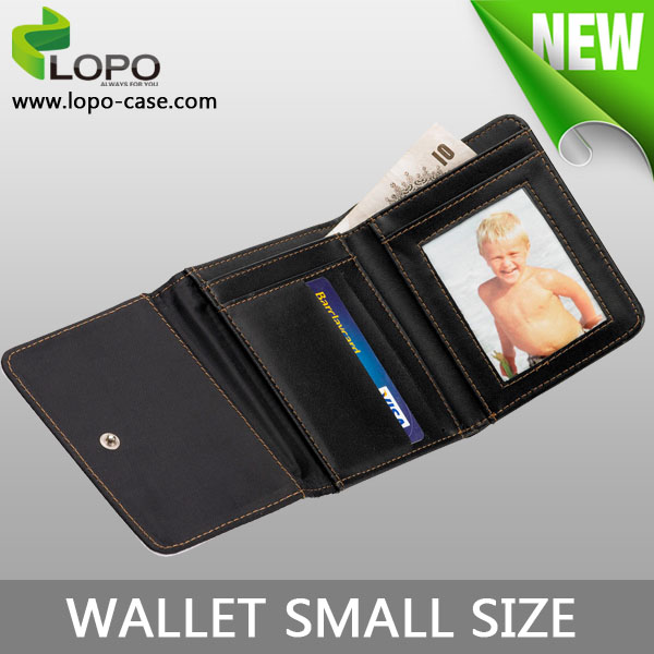 2016 Factory Wholesale Popular Sublimation photo printing small Wallet Purse with PU Leather
