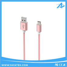 New arrival Customized Wholesale custom cell phone type-c usb cable, usb charger type-c cable