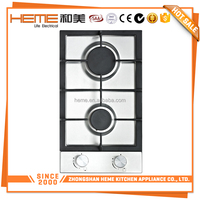 Desktop Gas Cooktop Electric and gas 2 burners gas hob for cook (PG3020BS-CCI)