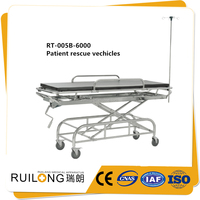 Good Quality Operating Room Stainless Steel Hospital Patient Transfer Bed