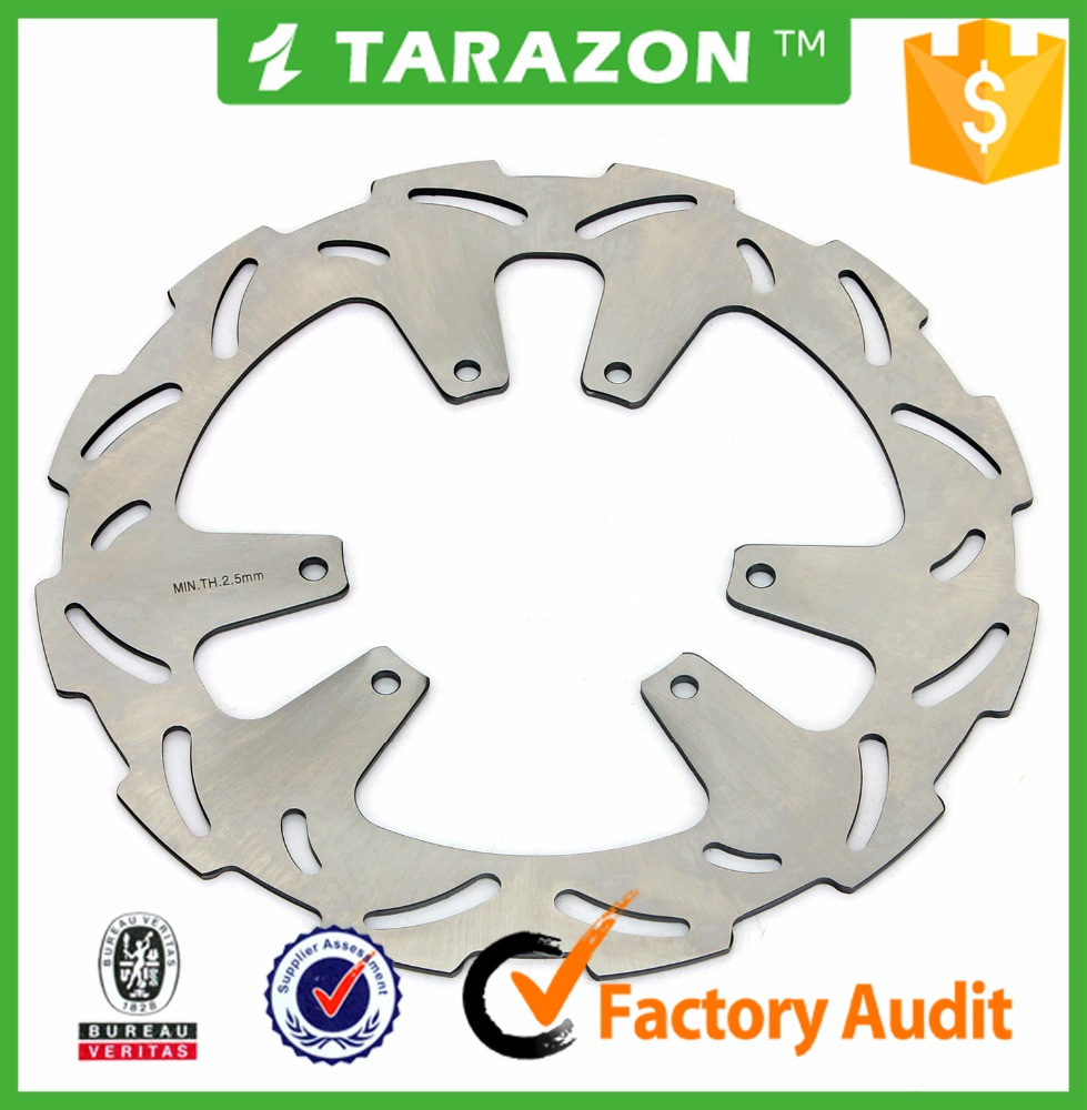 Motorcycle 260mm solid brake disc for Honda CRF R 250 450 motocross