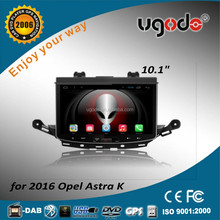 ugode high quality touch screen car radio gps for opel astra 2016