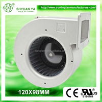 AC 220V Kitchen Sirocco Exhaust Fan Blower Fan