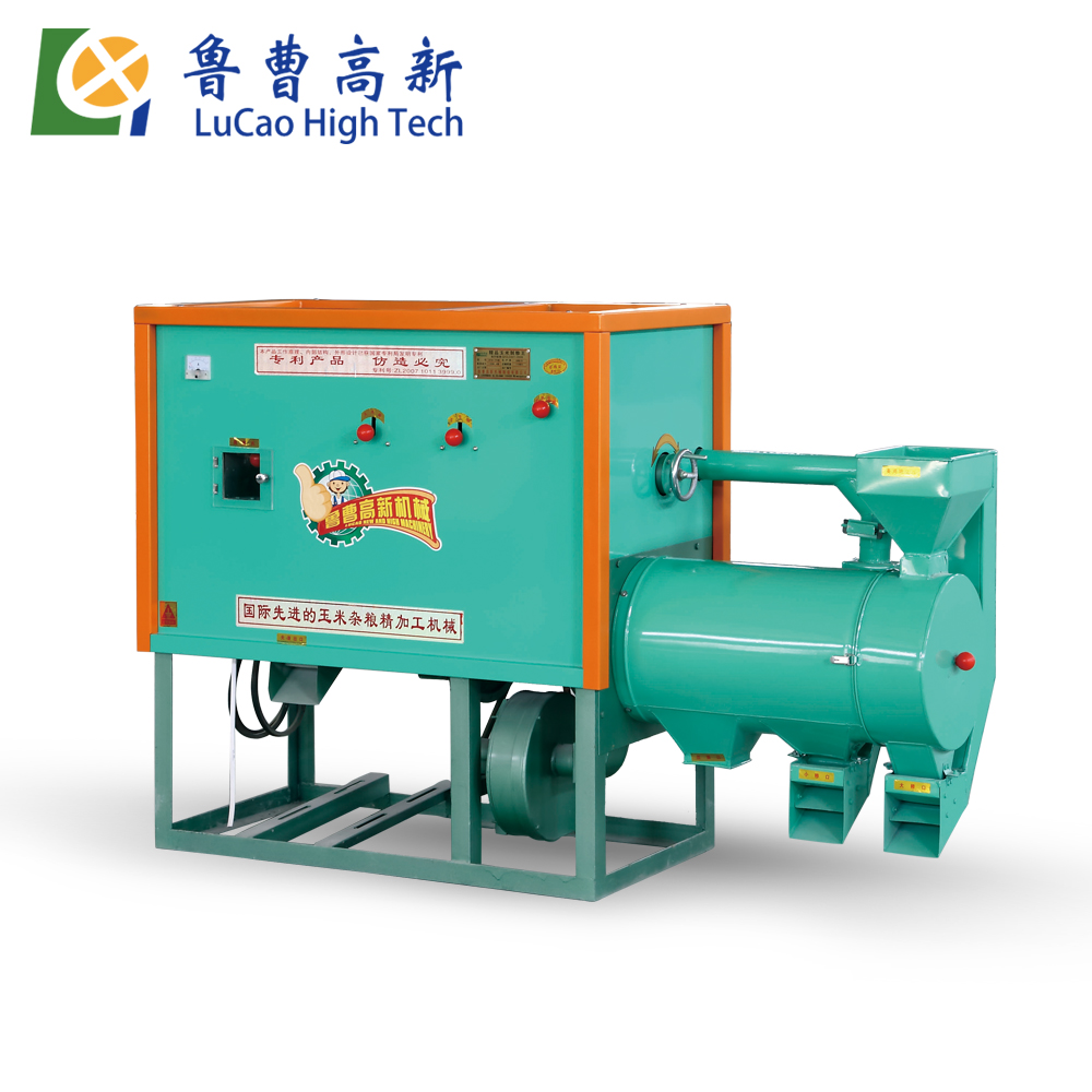 5 ton per day diesel small scale corn maize milling machine