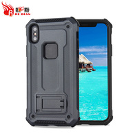 Dual layer shockproof stand case for iphone 8 ,cases for mobile phone for iphone x with stand