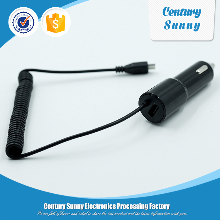 Hot New Product Mobile Accessory: Universal Micro USB Vehicle Cable Car Charger
