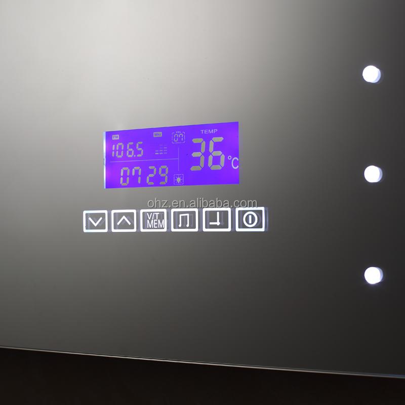 Miroir Salle De Bain Avec Horloge Et Radio – Salle de ...