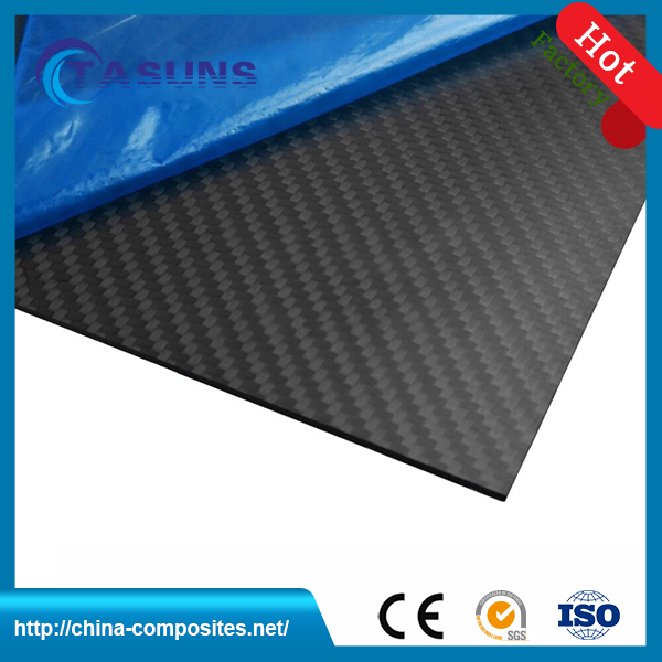 China Made Matte Carbon Fiber Plate for custom