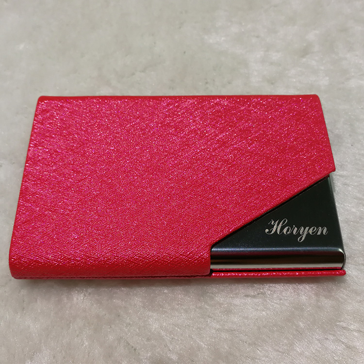 Light weight business card case women with best service