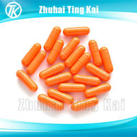 easy to swallow edible vegetable empty capsule pill size 3#