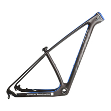 Carbon bicicletas mountain bike 29 inch mtb frame thru axle and QR interchangeable frame