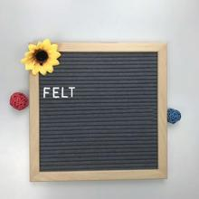 Felt Letter Board 10 <strong>x10</strong> Inches Stock for Quick Shipment. Changeable Letter Boards Include 374 3/4 Inch White <strong>Plastic</strong> Letters