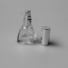 12ml unique shaped perfume atomizer spray bottle empty glass bottle for sale China Manufacturer