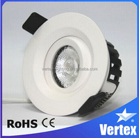 China supplied Dimmable 8W recessed ceiling LED wall lamp